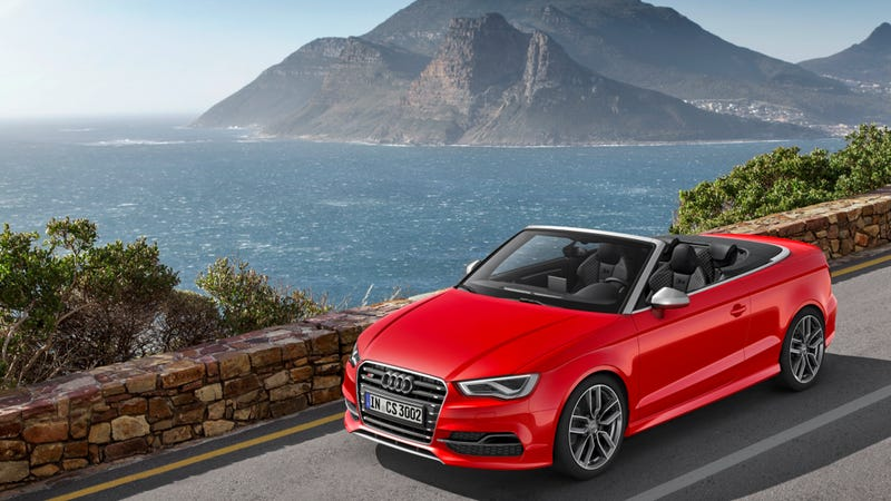 Illustration for article titled 2015 Audi S3 Cabriolet: This Is More Of It