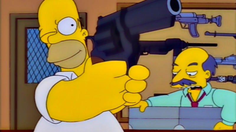 Simpsons familie orgie