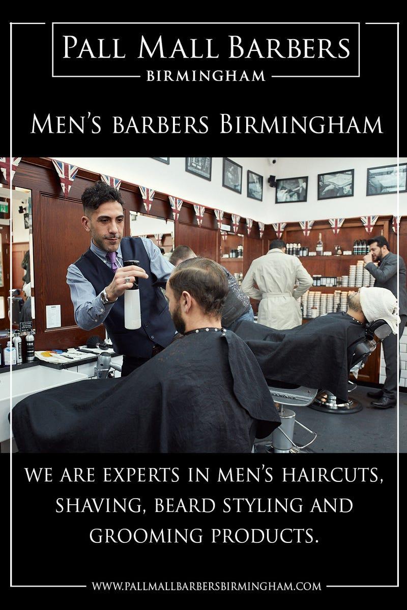 Illustration for article titled Men's Barbers Birmingham | Call 01217941693 | pallmallbarbersbirmingham.com