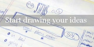 "Illustration for article titled ""Start Drawing Your Ideas"""