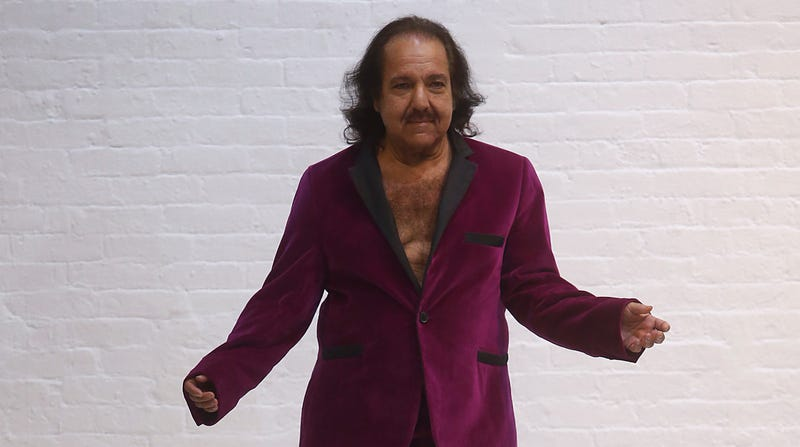 Ron Jeremy walks the runway at Athanasiu SS19 Collection during New York Fashion Week.