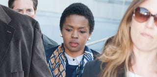 Lauryn Hill at her sentencing (Dave Kotinsky/Getty Images)