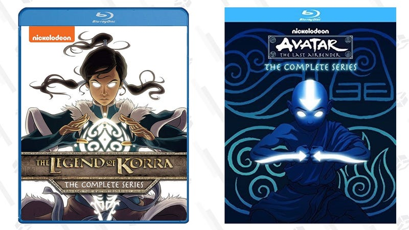 Legend of Korra: The Complete Series | $20 | Amazon | Also $16 on DVDAvatar: The Last Airbender: The Complete Series | $19 | Amazon | Also $16 on DVD