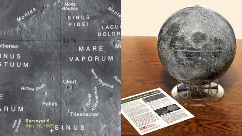 Illustration for article titled Lunar Globe Gives You an Incredibly Accurate Look at the Moon - DUPE