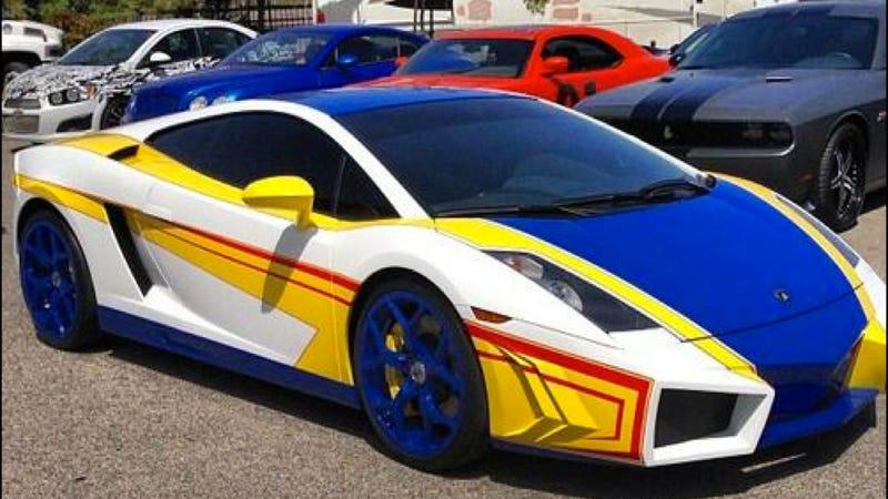 Chris Brown Cars: Chris Brown's Lamborghini Is Now A Real Life Hot Wheels Car