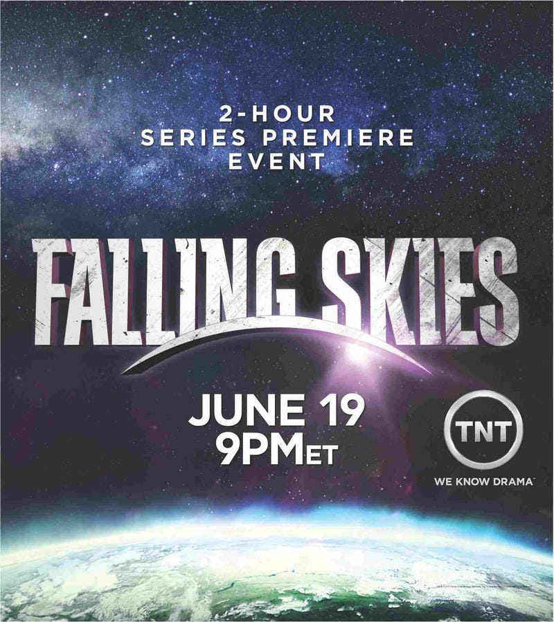 Illustration for article titled Falling Skies Poster