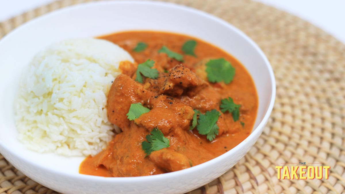 The Instant Pot was made to cook Indian butter chicken