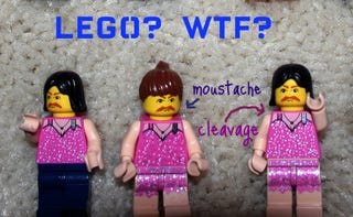 Illustration for article titled Army of Transvestites Celebrate Lego Minifig Anniversary