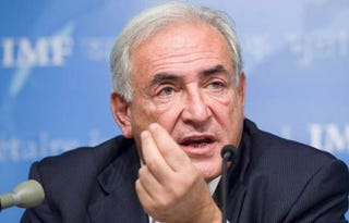 IMF chief Dominique Strauss-Kahn resigns. (Getty)