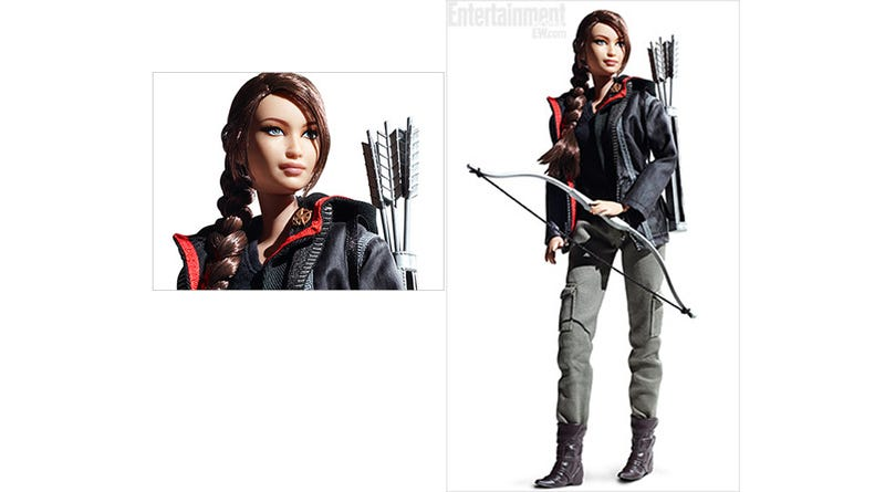 Illustration for article titled Here's That Katniss Everdeen Barbie Doll You Didn't Ask For