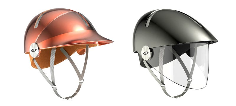 Illustration for article titled These Philippe Starck Bicycle Helmets Look Too Good to Wear