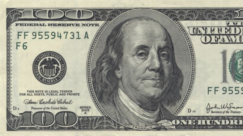 Illustration for article titled This week's Wiki Wormhole is all about the Benjamin (Franklin, that is)