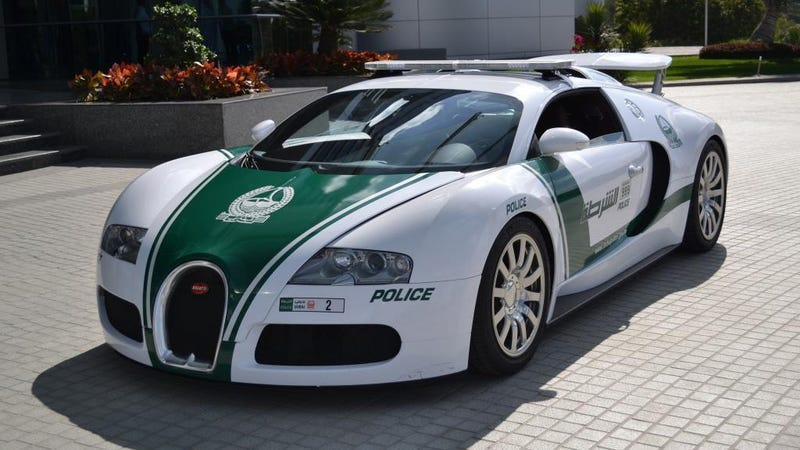 This $1.6 Million Dubai Police Bugatti Veyron Is Real