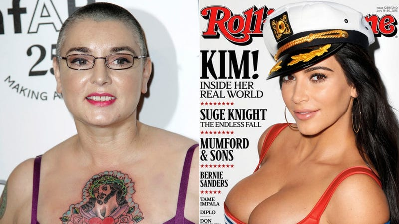 sinead o'connor on kim k: 'what is this cunt doing on the cover of rs?'