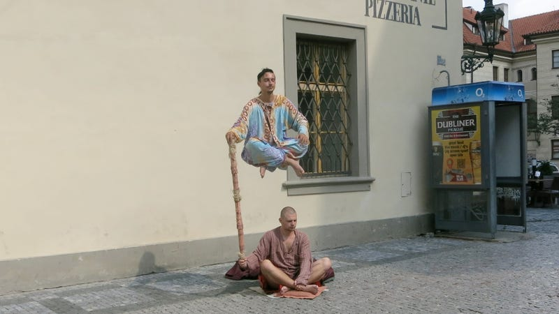 These Prague Street Performers Have Pulled Off One Of The Finest Executions Levitating Man Illusion You Will Ever See For Those Who Hate Fun