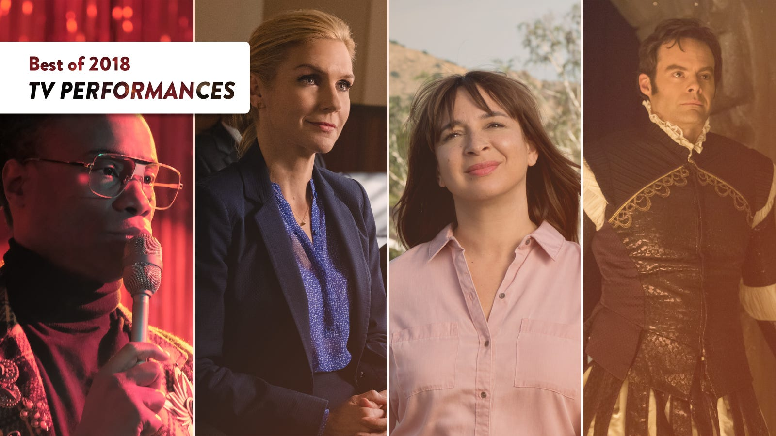 The best TV performances of 2018
