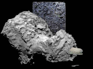 Illustration for article titled How Big Is Rosetta's Comet?
