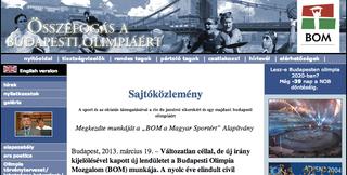 Illustration for article titled Időhurokba került a Budapesti Olimpia Mozgalom