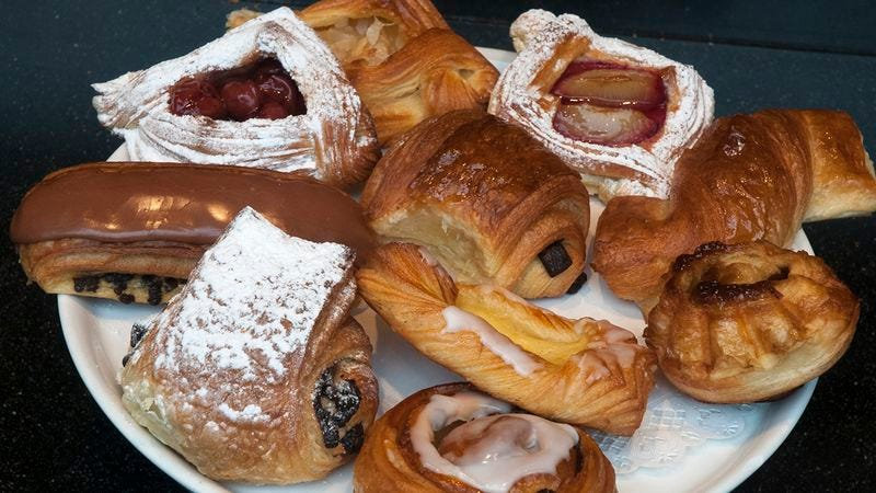 Illustration for article titled Assorted Pastries Until The Pug Dressed As An Old Lady Arrives?