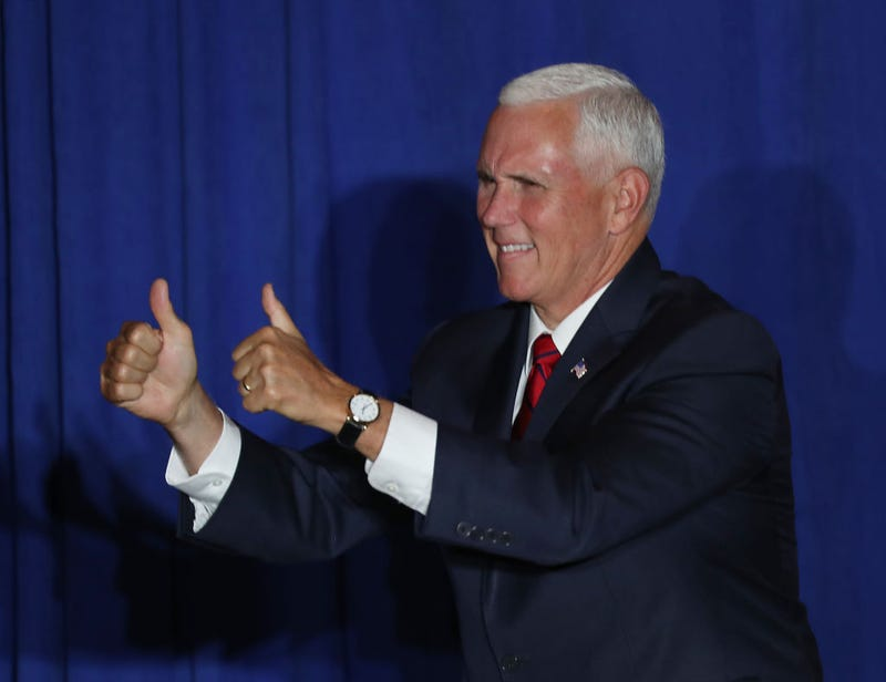 Illustration for article titled Remember When Mike Pence Abruptly Canceled a Trip to NH? Turns Out He Was About to Shake Hands With a Drug Dealer [Corrected]