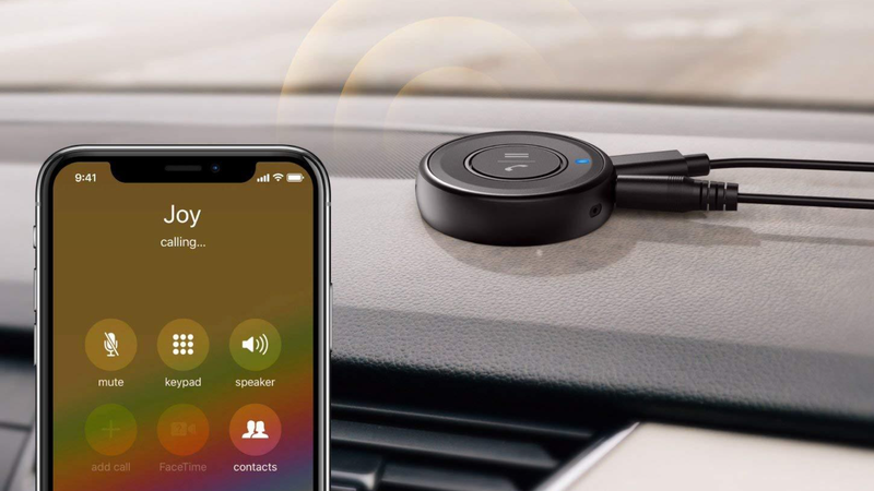 Roav by Anker Bluetooth Receiver | $9 | Amazon | Promo code ROAVNGB2 and $2 clippable coupon