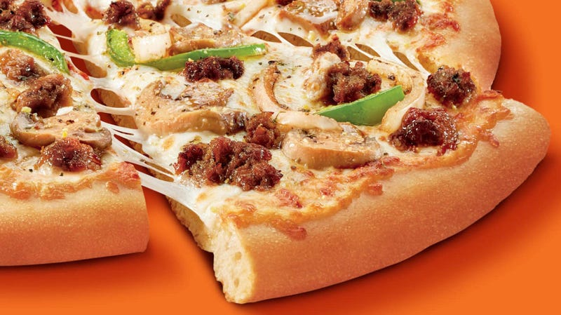 Illustration for article titled Little Caesars to debut Impossible Sausage, shattering faux-meat caste system