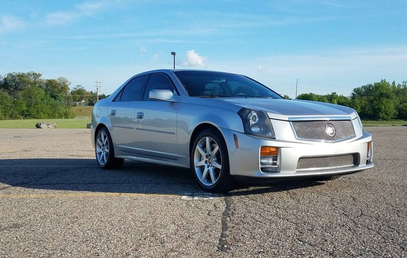 Illustration for article titled At $13,900, Could This 'Tastefully Modified' 2006 Cadillac CTS-V Prove More Than Modestly Tasty?