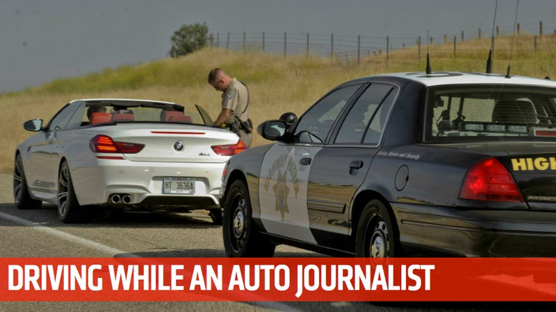 Illustration for article titled Journalist Gets A Ticket For Driving 136 MPH In A 55 MPH Zone