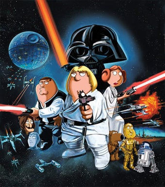 Illustration for article titled Family Guy Creators Tease Just How Their Empire Will Strike Back In Next Star Wars Spoof