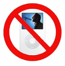 Illustration for article titled iPod and Cellphone Ban Coming to NYC?