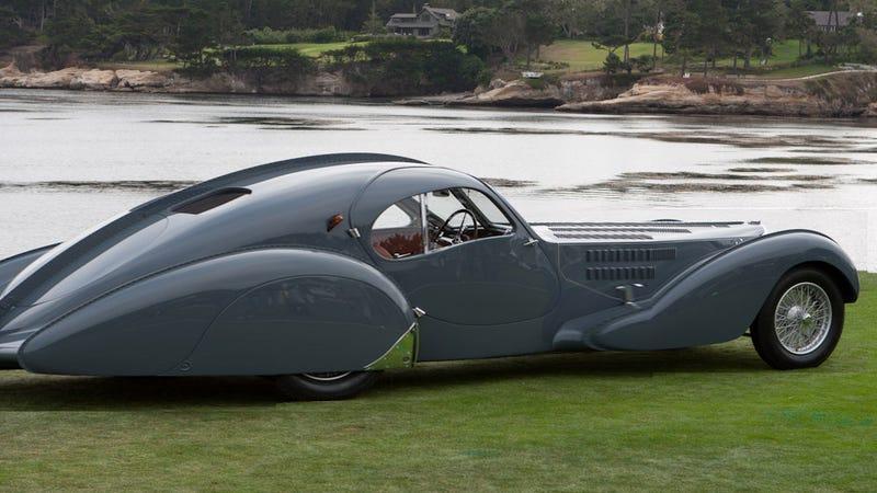 Illustration for article titled the Bugatti T57 Atlantique