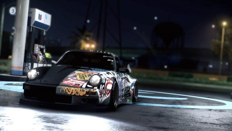 Illustration for article titled RWB Porsche 911 (NFS 2015)   Photo Dump