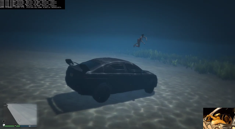 I Can't Stop Watching A GTA V AI Learning How To Drive On Twitch