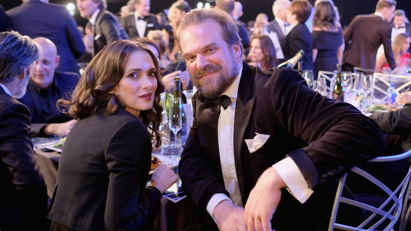 """Is Winona Ryder one of those """"nerds"""" who warned Harbour away from Helboy? The world may never know. (Photo: Dimitrios Kambouris/Getty Images for Turner)"""