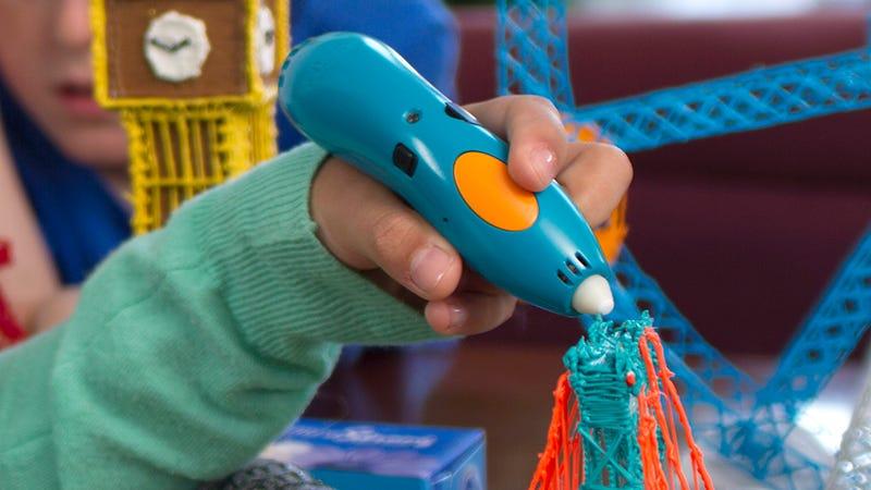 Illustration for article titled A New Kid-Safe Version of the 3Doodler Melts Plastic Without Burning Fingers