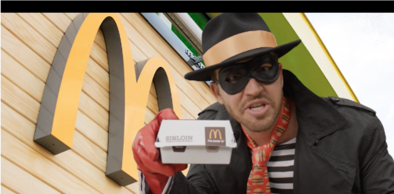 Illustration for article titled What the Hell is Happening in McDonald's Recent Hamburglar Promo?