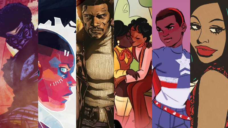 Illustration for article titled Black Panther and Beyond: 30 Comics You Should Read for Black History Month