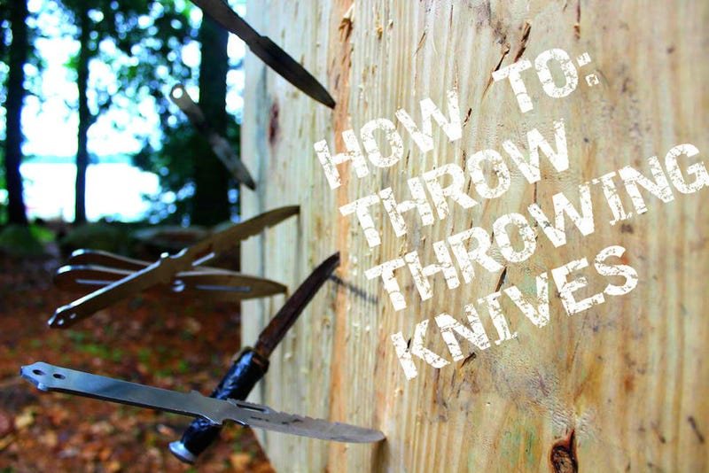 Illustration for article titled Learn to Throw Knives Like a Pro