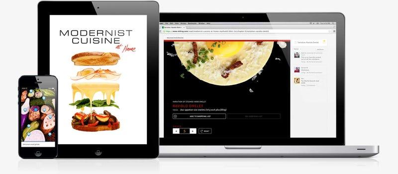 Illustration for article titled El mejor libro de cocina del mundo ya tiene su propia aplicación