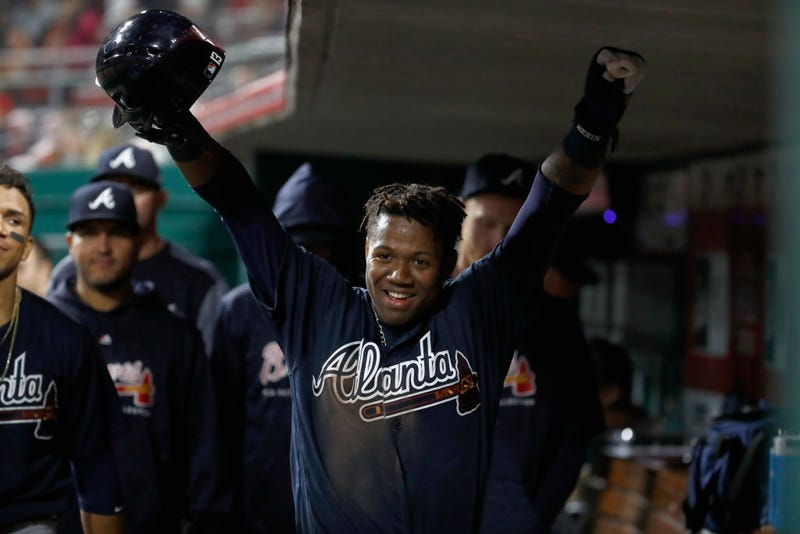 Illustration for article titled Ronald Acuña, Who Should Have Been Here Weeks Ago, Flashed What He's Capable Of