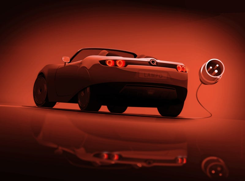 Illustration for article titled Protoscar Lampo Electric Teased Ahead Of Geneva
