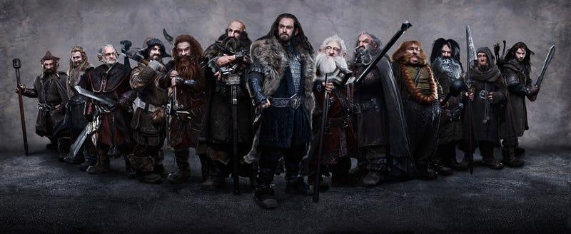 Illustration for article titled The Hobbit — All Dwarves Picture
