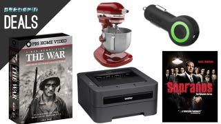 Illustration for article titled Ken Burns Sale, A Printer You Won't Hate, Sopranos Blu-ray [Deals]