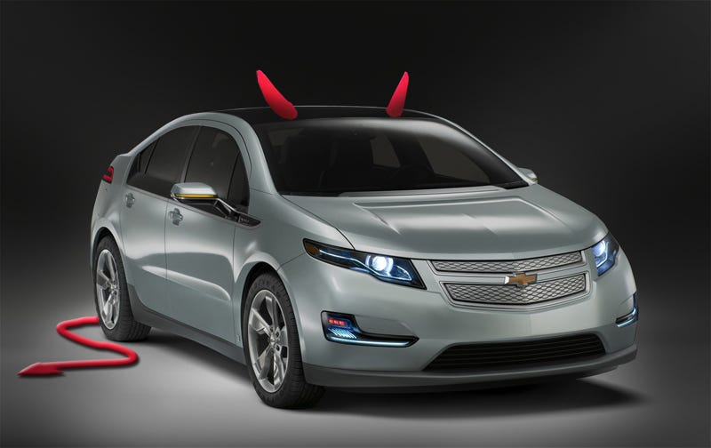 "Illustration for article titled How GM ""Lied"" About The Electric Car"