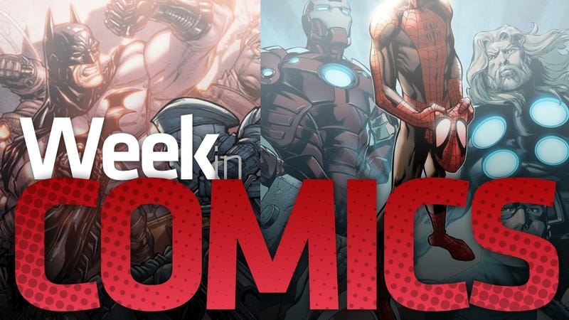 Illustration for article titled The New Spider-Man isn't the Only New Comic Worth Checking Out this Week