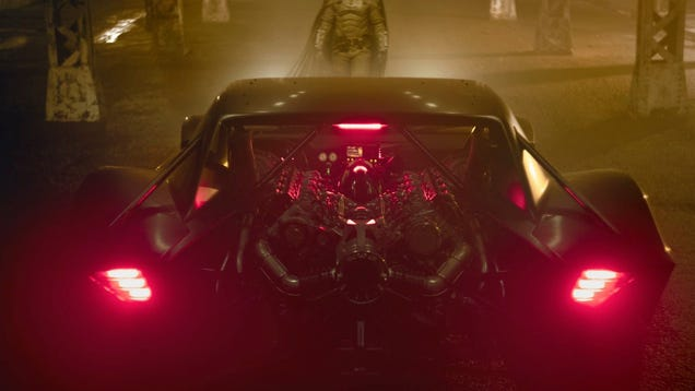 Hot Damn, Look at The Batman s New Ride