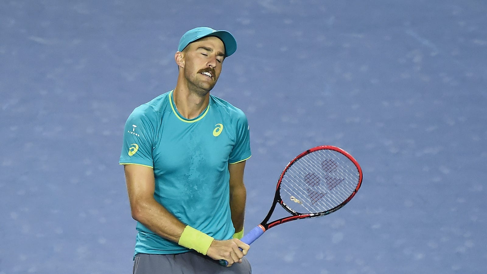 American Tennis Player Resembles Luigi During Biggest Win His