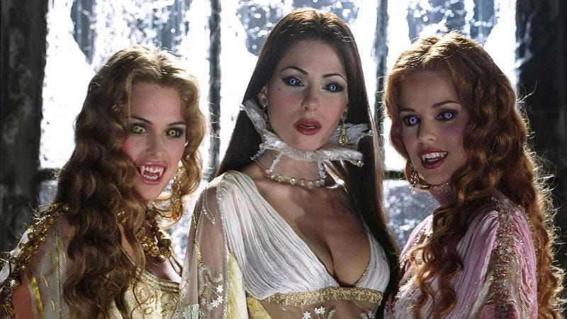 New NBC drama re-imagines the Brides of Dracula as flirty single city gals