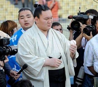 Illustration for article titled Kuroda Is The New Rikishi