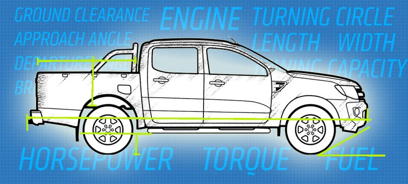 Illustration for article titled By The Numbers: 2015 Chevy Colorado Vs Tacoma, Frontier, New Ford Ranger